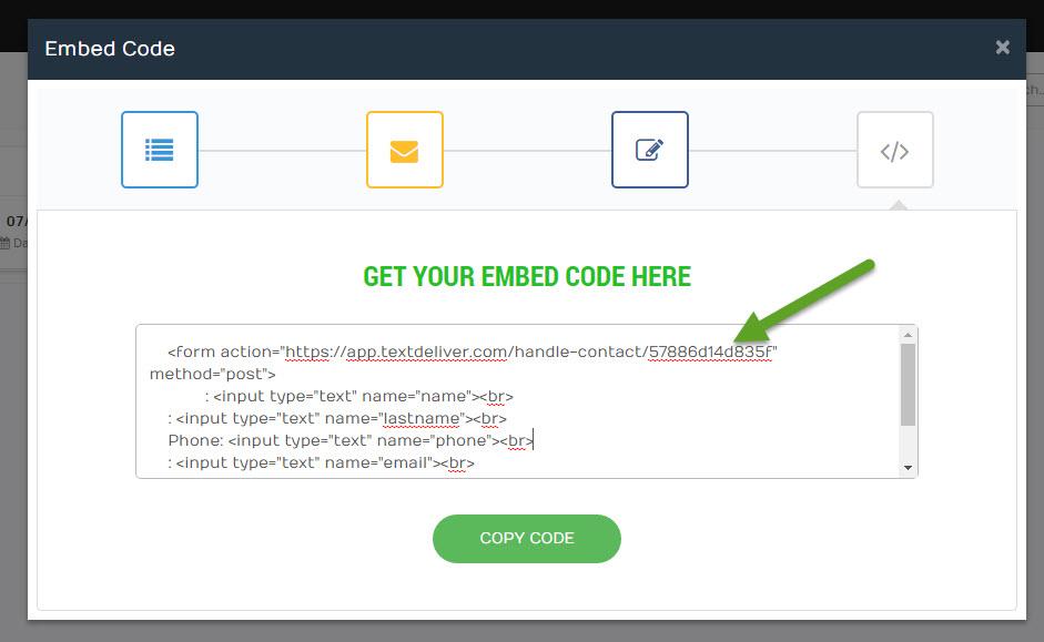 textdeliver_getcode